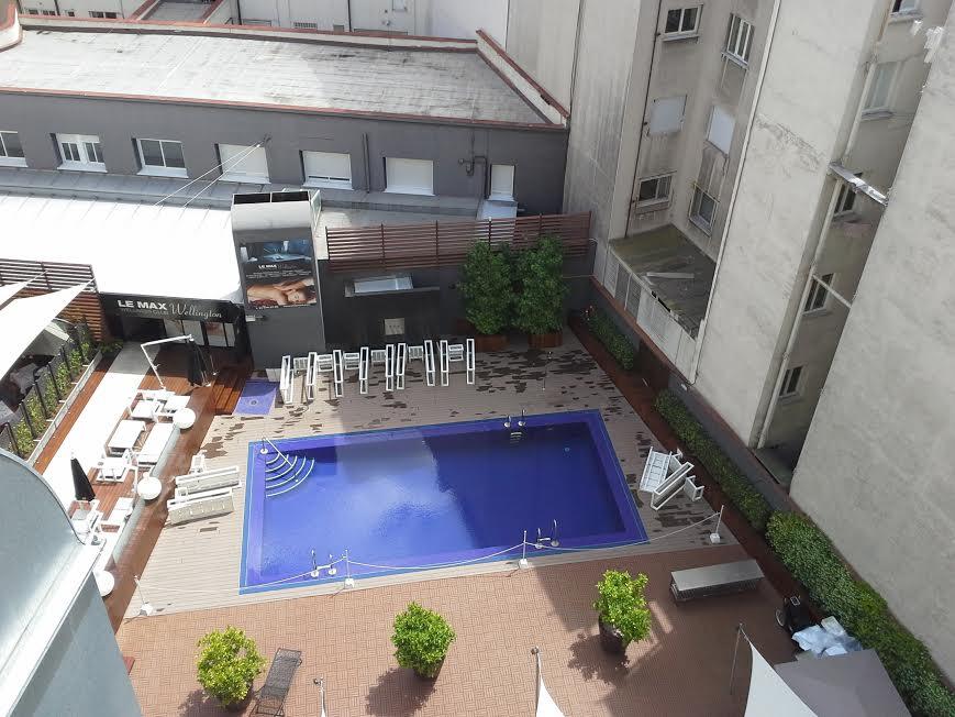 Terraza Hotel wellington Madrid, desde el huerto Te Veo en Madrid