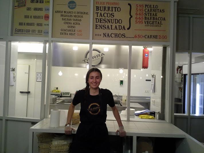 Tierra Burrito fast good rerstaurante barra