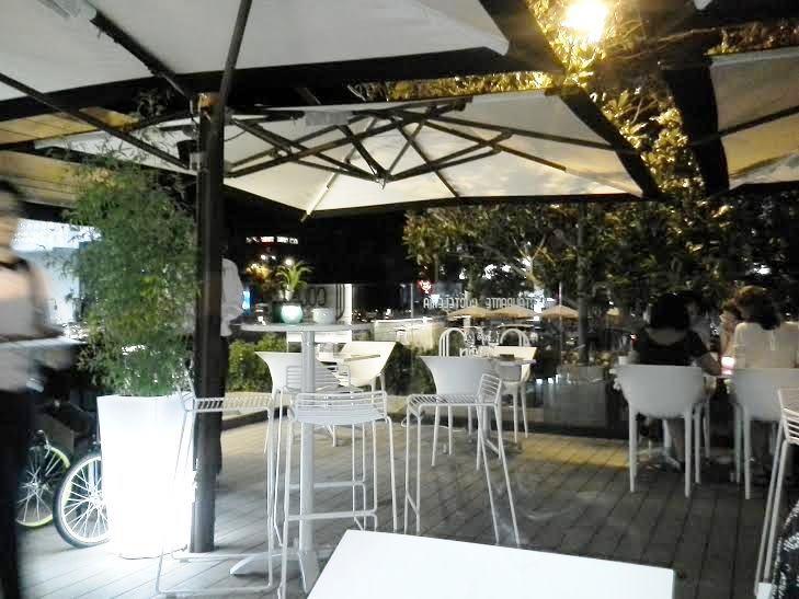 Restaurante Cafe Colón terraza te veo en madrid