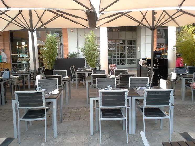 Restaurante Dim Sum Club La Moraleja terrazaTe Veo en Madrid