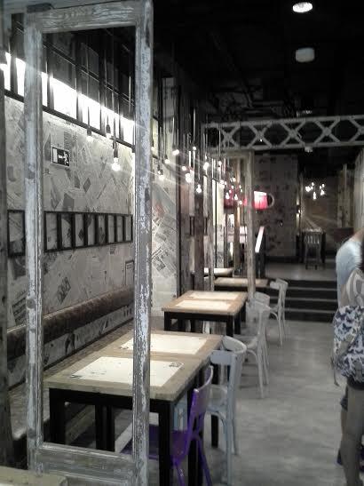 Restaurante Saporem comedor lateral Te Veo en Madrid