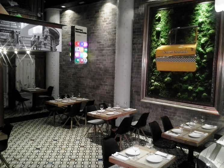 Restaurante Taxi a Manhattan comedor Te Veo en Madrid