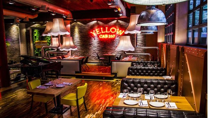 Restaurante Taxi a Manhattan comedor  3Te Veo en Madrid