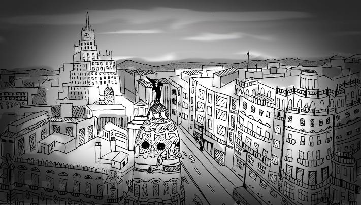 Te Veo en Madrid slide de portada Madrid by Isabel Pidal