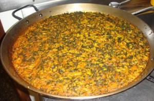 Paella de verduras Te Veo en Madrid