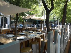 Restaurante Otto Madrid terraza Te Veo en Madrid