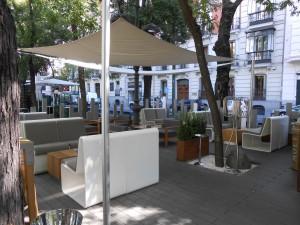 Restaurante Otto terraza 2 Te Veo en Madrid