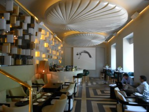 Restaurante Otto zona de barra Te Veo en Madrid