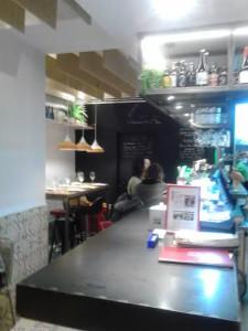 Taberna Pedraza barra Te Veo en Madrid