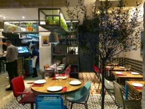 Restaurante Taberna Pedraza comedor Te Veo en Madrid