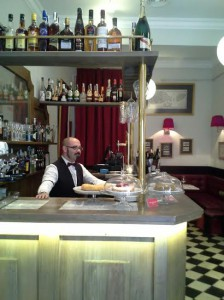 Léntrecot Café de París  barra Te Veo en Madrid