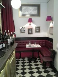 Léntrecot Café de París esquina barra Te Veo en Madrid