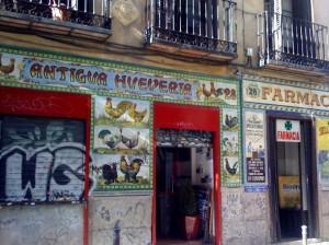 La antigua hueveria Te Veo en Madrid