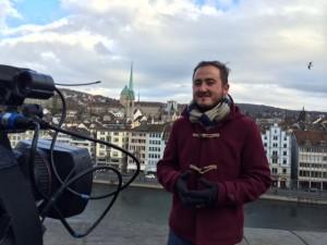 Miguel Valle Madrileños por el mundo con cámara Te Veo en Madrid