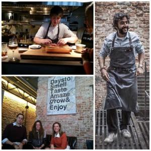 Restaurante Destage Diego Guerrero mosaico de fotos de Te Veo en Madrid