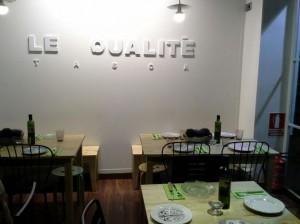 Restaurante Le Qualité Te Veo en Madrid