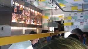 Restaurante bar de tapas sala de despiece