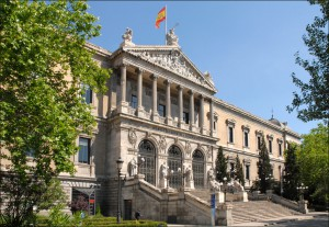 Biblioteca Nacional Te Veo en Madrid