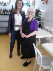 Restaurante La Verónica con Tita la propietaria Te Veo en Madrid