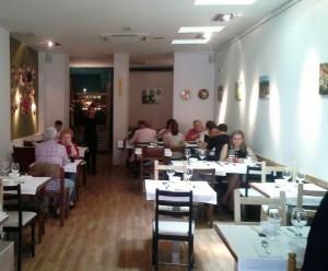 Restaurante Vietnam 24 sala Te Veo en Madrid