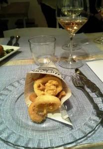 Restaurante chiringuito Sr. martín calamares Te Veo en Madrid