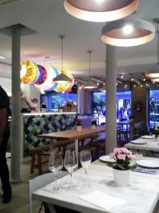Restaurante chiringuito Sr. martín sala Te Veo en Madrid