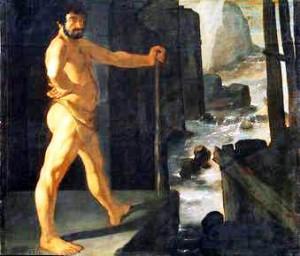 Hercules desvía le curso del río Zurbaran Te Veo en Madrid