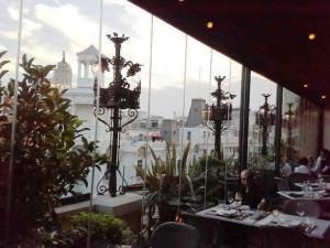 Restaurante Ático Hotel the Principal  vistas Te Veo en Madrid