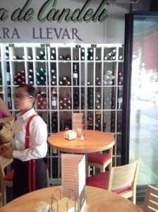 Restaurante Candeli barra Te Veo en Madrid