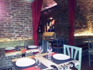 Restaurante Charlie Champagne comedor exterior Te Veo en Madrid