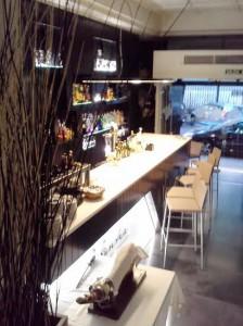 Restaurante Lakuntza barra Te Veo en Madrdi