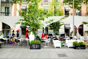 Restaurante Ramses terraza Te Veo en Madrid