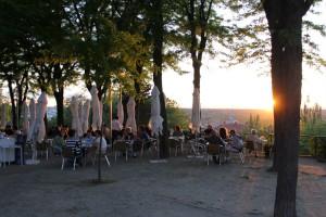Terraza de las Vistillas Restaurante el ventorrillo Te Veo en Madrid