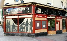 El Capricho fachada Te Veo en Madrid