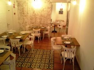 Restaurante Ronda 14 panoramica comedor planta baja Te Veo en Madrid