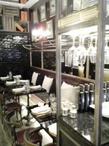 Restaurante Toque de Sal mesas barra Te Veo en Madrid