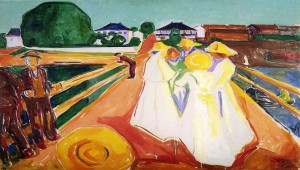 exposicion_ girls_on_the_bridge_edvard_ munch_te_veo_en_madrid