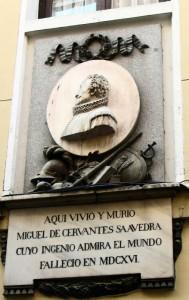 placa_homenaje_cervantes_barrio_letras