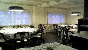 Restaurante Lakuntza comedor principal Te Veo en Madrdi