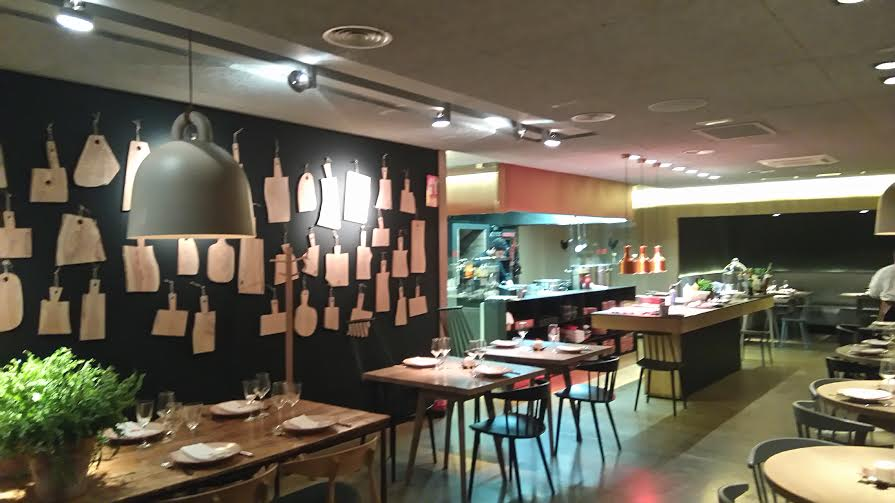 Restaurante aire especializado en aves te veo en - Restaurante sergi arola en madrid ...